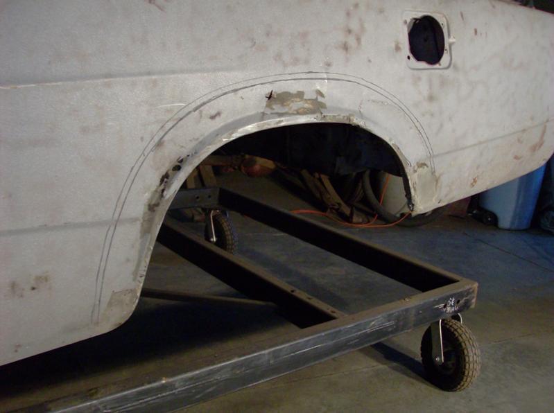 rear left quarter